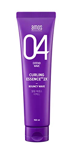 AMOS PROFESSIONAL Curling Essence 2X 150ml Old Version   Bouncy Curl Styling and Hair Essence for Moisturized Curls and…
