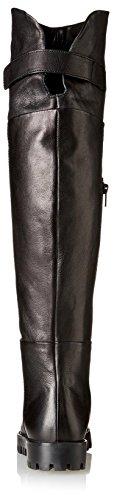 Knee Boot Over Women's Leather Manas Berlino The Nero 6xZwnI4