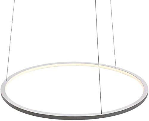 JYXGFLQ Diseño Moderno 1 Anillo LED Lámpara de Mesa Comedor ...