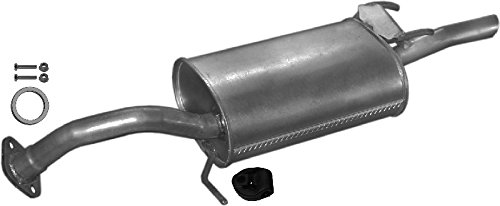 complete mounting kit ETS-EXHAUST 51830 Exhaust Rear Silencer fits COROLLA 1.3 1.6 ESTATE COUPE SALOON LIFTBACK 75//72//82//95//90//105hp 1987-1992