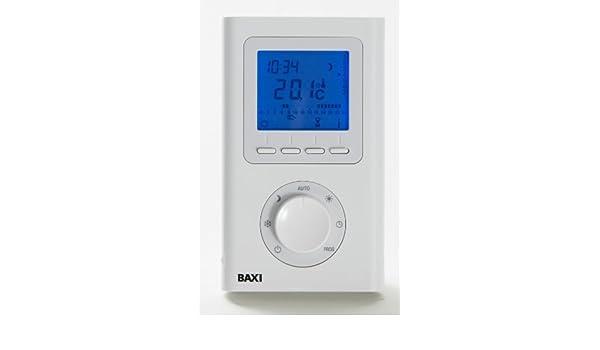 Baxi Combi inalámbrico 7 Día Termostato programable 720030501: Amazon.es: Bricolaje y herramientas