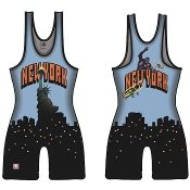 Brute New York Sublimated Singlet - YOUTH LARGE ()