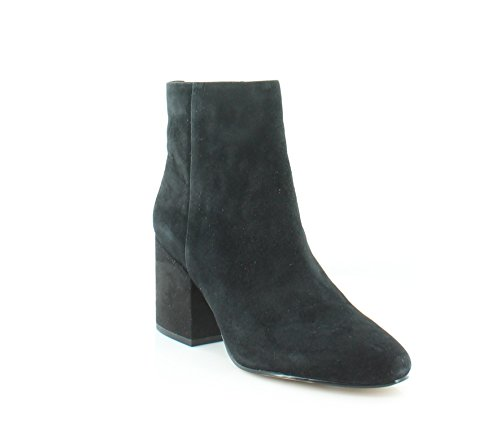 Black Suede Bootie - Sam Edelman Women's Taye Ankle Boot, Black Suede, 9.5 Medium US