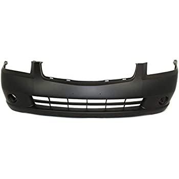 Front Bumper Cover For 93-97 Nissan Altima w// fog lamp holes Primed