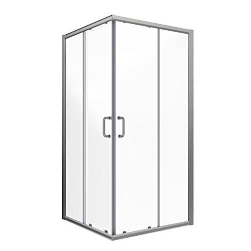 (Elegant Corner Shower Door 36