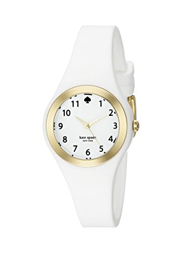 kate spade new york Women's 1YRU0793 Rumsey Analog Display Japanese Quartz White Watch