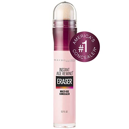 Maybelline Instant Age Rewind Eraser Dark Circles Treatment Concealer, Brightener, 0.2 Fl Oz (1 Count) (Packaging May Vary) (Best Drugstore Eye Cream For Dark Circles And Puffiness)