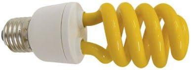 Lampadina basso consumo colore gialla 13w