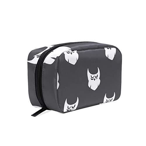 MALPLENA Cute Halloween Spirit make up pouch for women Make Up Pouch]()