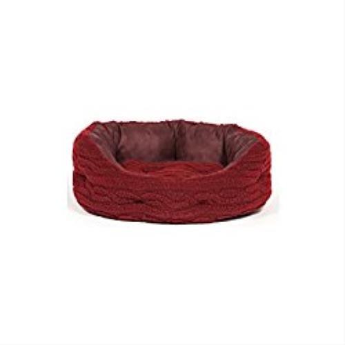 101cm (40\ Danish Design Bobble Damson Deluxe Slumber Bed 40