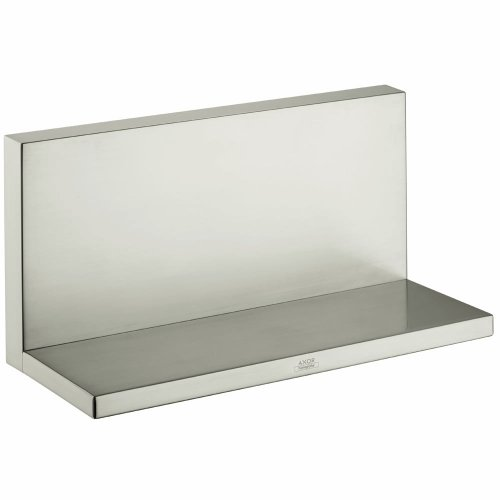 Hansgrohe 40873820 Axor Starck Shelf Large, Brushed Nickel by AXOR