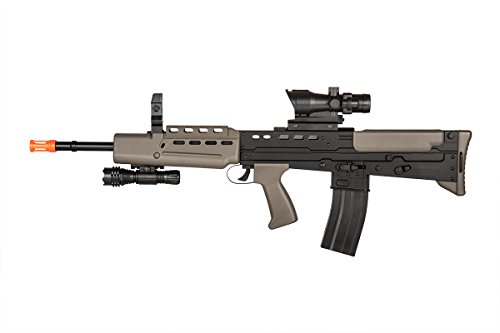 spring airsoft rifle w/ flashlight l85a2 style(Airsoft ()