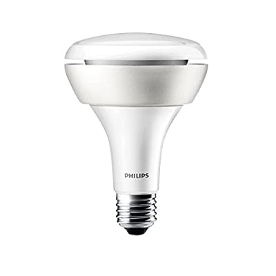 Philips Hue White and Color Ambiance 1st Generation BR30 60W Equivalent Dimmable LED Smart Flood Light - Older Model, Works with Alexa, Apple HomeKit, and Google Assistant (Certified Refurbished)