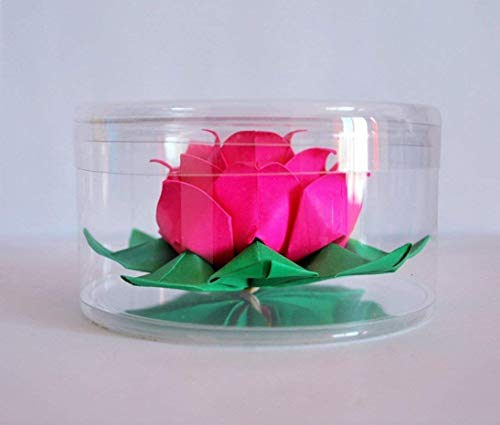 origami lotus paper flower water lily
