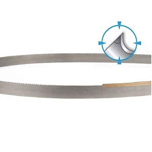 PART NO. 303901159.000 Silencer GP Bi-Metal Band Saw Blade - Welded, 1x0.035, 6-10 TPI, 159 Inch