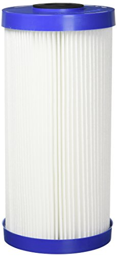 OmniFilter RS6-SS2-S06 Rs6 Heavy Duty Pleated Water Filter Cartridge, 4-1/2 In Dia X 9-3/4 In L, 30 U, quot quot