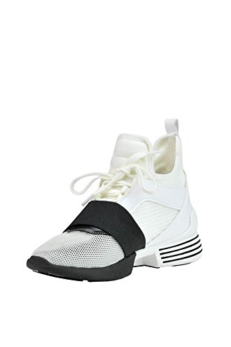 Top Women's Sneakers Fibers Synthetic White KENDALL MCGLCAK03018E KYLIE Hi 80Znqnx15