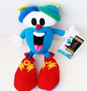 - 1996 Olympic Games Atlanta Collectible Plush Mascot IZZY - 10 by Dakin by Dakin