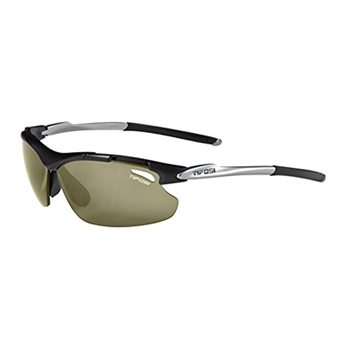 Tifosi Tyrant T-V661 Dual lens Sunglasses,Matte Black Frame/High Speed Red Fototec Lens,One - Sunglasses Tifosi Fototec Tyrant