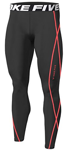 New Men Sports Apparel Skin Tights Compression Base Under Layer Long Pants...