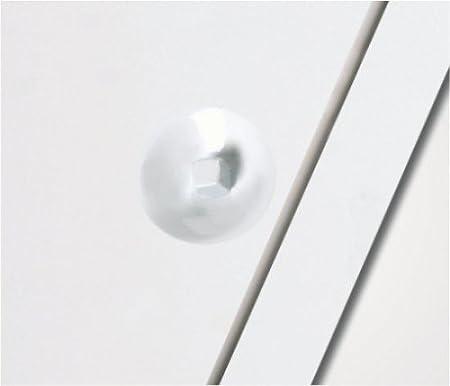 cm :50 x 50 wei/ß Vierkantverschlu/ß Einbauma/ß Breite x H/öhe Domodul /® Revisionsklappe Revisionst/ür Stahl