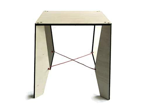 """Amazon.com: 15"""" Wooden Square Coffee Table For Living Room"""