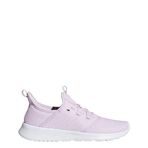 adidas Women's Cloudfoam Pure, aero Pink/White, 8 M US