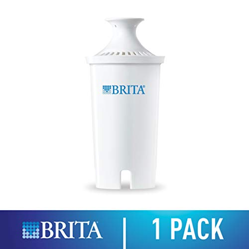 - Brita 35512 Standard Replacement Water Filter for Pitchers, 1 Count food 1ct White