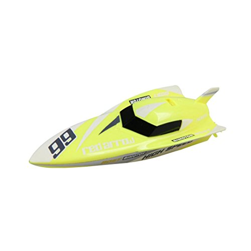 Price comparison product image Boofab Remote Control Boat RC 4CH 2.4G Racing Waterproof Remote Outdoor Toys (B)