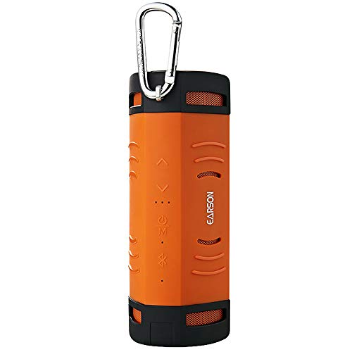 (NOMENI Wireless Bluetooth Speaker Sports Riding Bass Stereo BT4.2 Speaker Stereo Music Playback Three-Level LED Power Display)