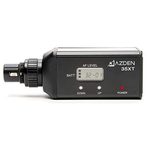 - Azden 35XT Wireless UHF XLR Plug-in Transmitter