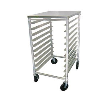 (Update International APR-10HT 10 Tier Pan Rack w/Aluminum Work Top)