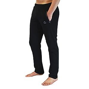 SCR Men's Workout Activewear Pants Athletic Sweatpants Long Inseam Black Grey Blue Navy 30L 32L 34L 36L 38L