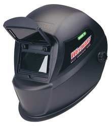 Westward 4UZZ3 Weld Helmet, 2.00x4.50 In, Blue, Shade 10