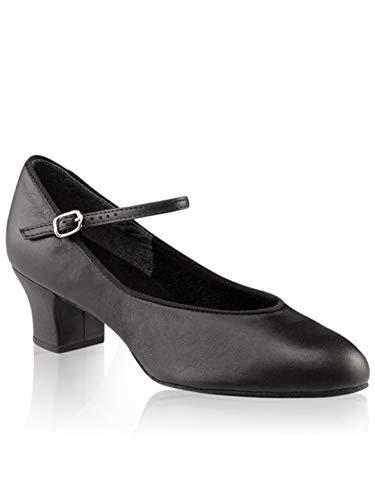 Capezio Suede Sole Jr. Footlight Character Shoe - Size 5 M U