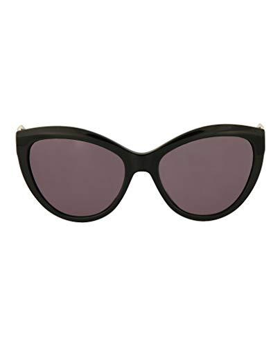 Alexander Mcqueen Mens - Alexander McQueen 001 Black 0003S Cats Eyes Sunglasses Lens Category 3