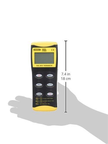 General Tools dt8856 Digital termómetro de doble entrada: Amazon.es: Bricolaje y herramientas