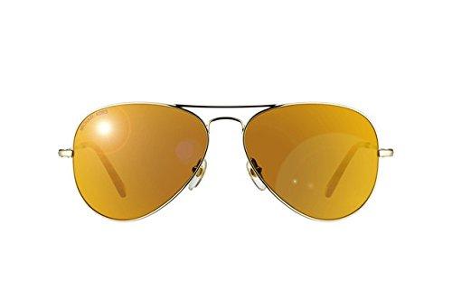 dcd543dd474b Michael Kors MK Dylan Aviator Sunglasses M2066S 717 Gold 58 14 135 ...