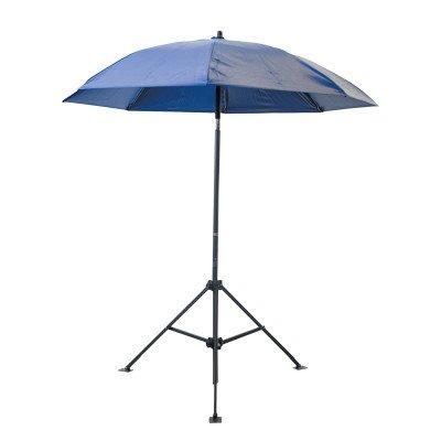 (Lapco 160-UM7VBX Umbrella- 7 ft.- Blue- Vinyl- With O)