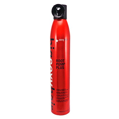 Sexy Hair Concepts Big Sexy Hair Root Pump Plus Humidity Resistant Volumizing Spray Mousse Boosting Volume and Thickness - For Hold Elasticity and Texture - Great For Medium or Thick Hair Types - 10oz by Sexy Hair