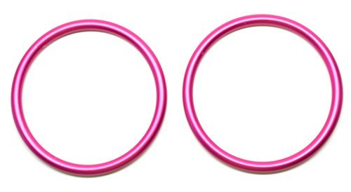 Roo Threads Aluminum Rings for Slings, Pink by Roo Threads   B01D3LFPNY