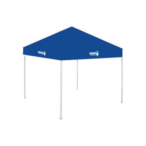 Central Connecticut State 9 ft x 9 ft Royal Tent 'Official Logo' by CollegeFanGear