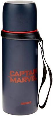 DMW Bags 11791, Garrafa Térmica Aço, Captain Marvel, 350ml
