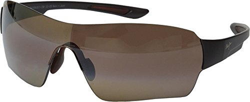 a94955a26dd FEATURES of the Maui Jim Night Dave Polarized Sunglasses Rimless with  screen effect with full coverage for excellent sun protection Shaped bridge  saddle and ...