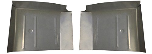 - Motor City Sheet Metal - Works With 1965 1966 1967 1968 FORD GALAXIE MERCURY MARAUDER UNDER THE REAR SEAT PANS PAIR