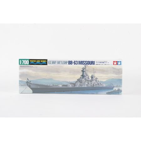 Tamiya America, Inc 1/700 U.S.Navy Battleship Missouri, - Model Battleship