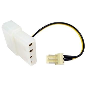 31biBb1izUL._SY355_ amazon com cables unlimited 3 pin atx fan to 4 pin molex connector