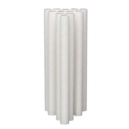 Lady Mary / Ateco 7-1/4-Inch Parchment Coated Paperboard Dowels, 12-Pack