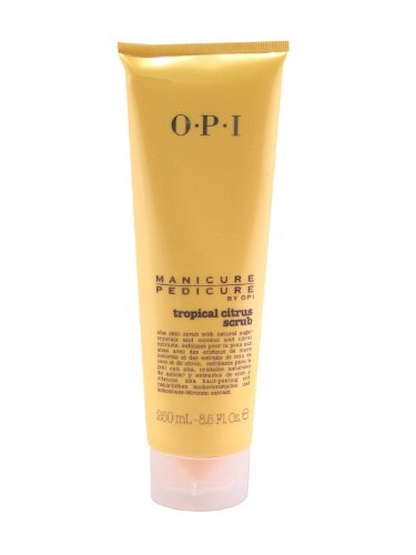 Opi Manicure/pedicure Scrub, Tropical Citrus, 8.50-ounce