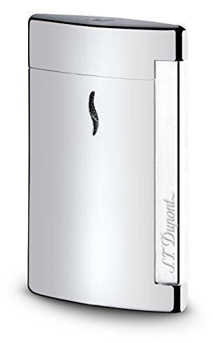 S.T. Dupont Minijet 2 Chrome Torch Flame Jet Lighter / 010502